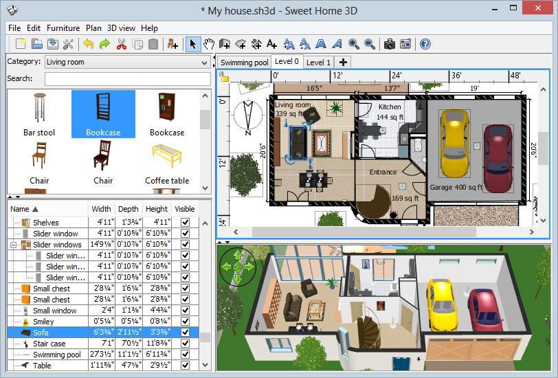 Бесплатные программы для дизайна дома